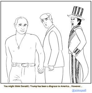 Trump is America's disloyal boyfriend